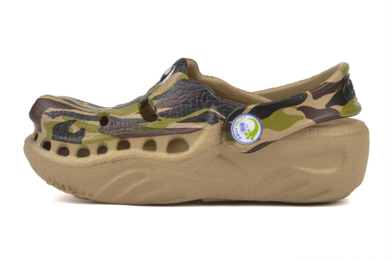 Sandali e scarpe aperte Polliwalks Igor L'alligator Verde immagine frontale