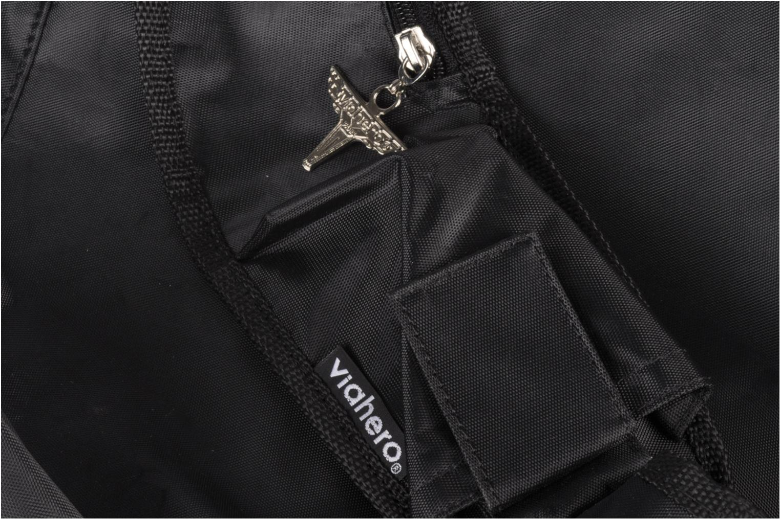 Rucksacks Viahero Pilot Bag Black view from the left