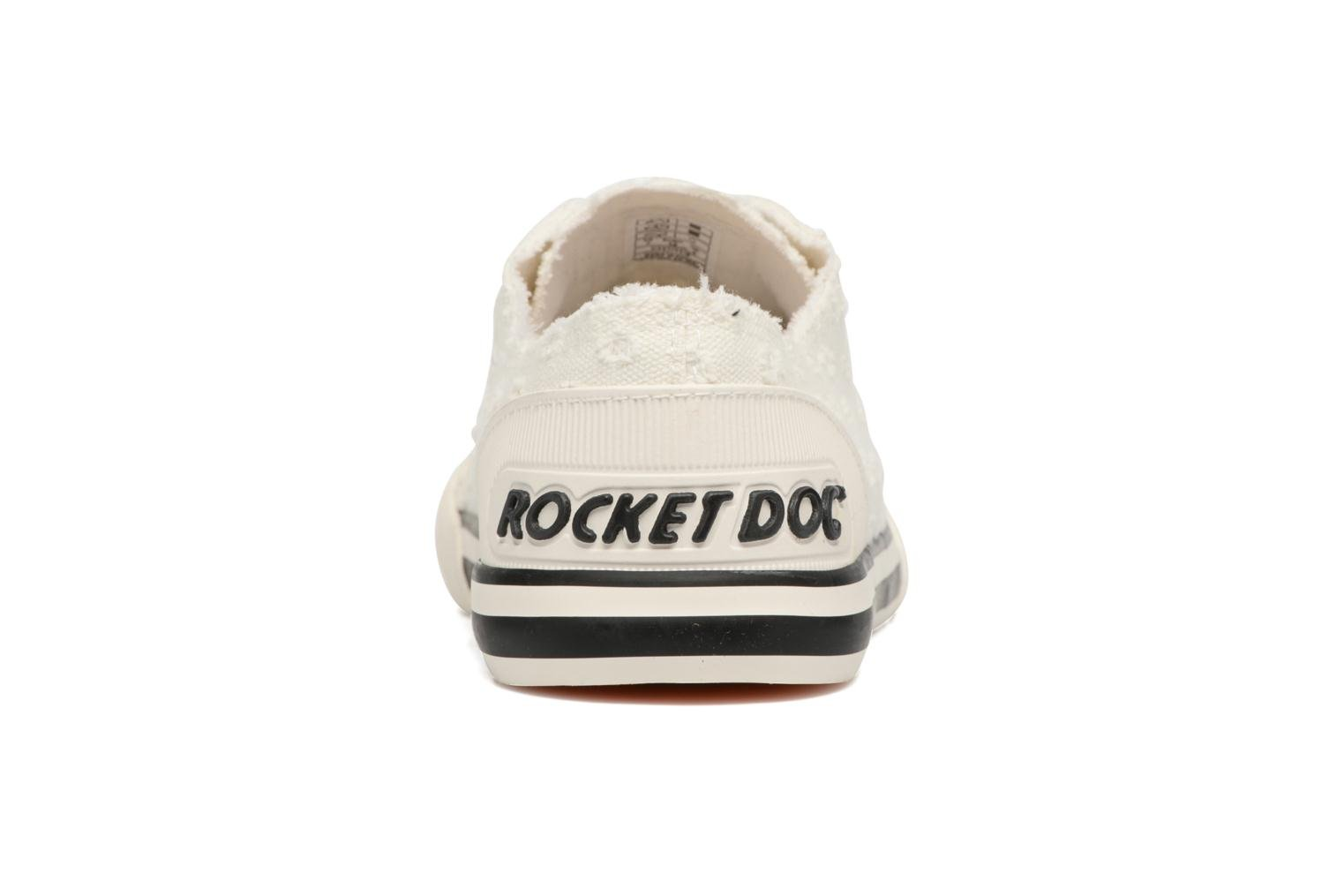 Deportivas Rocket Dog Jazzin Blanco vista lateral derecha
