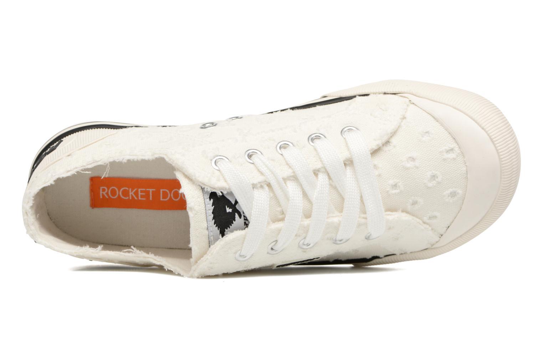 Sneakers Rocket Dog Jazzin Hvid se fra venstre