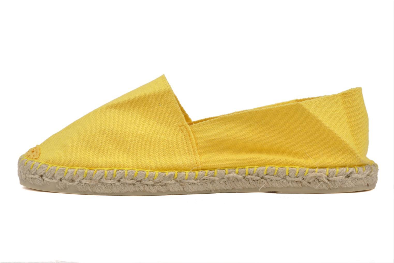 Espadrilles La maison de l'espadrille Sabline F gelb ansicht von vorne