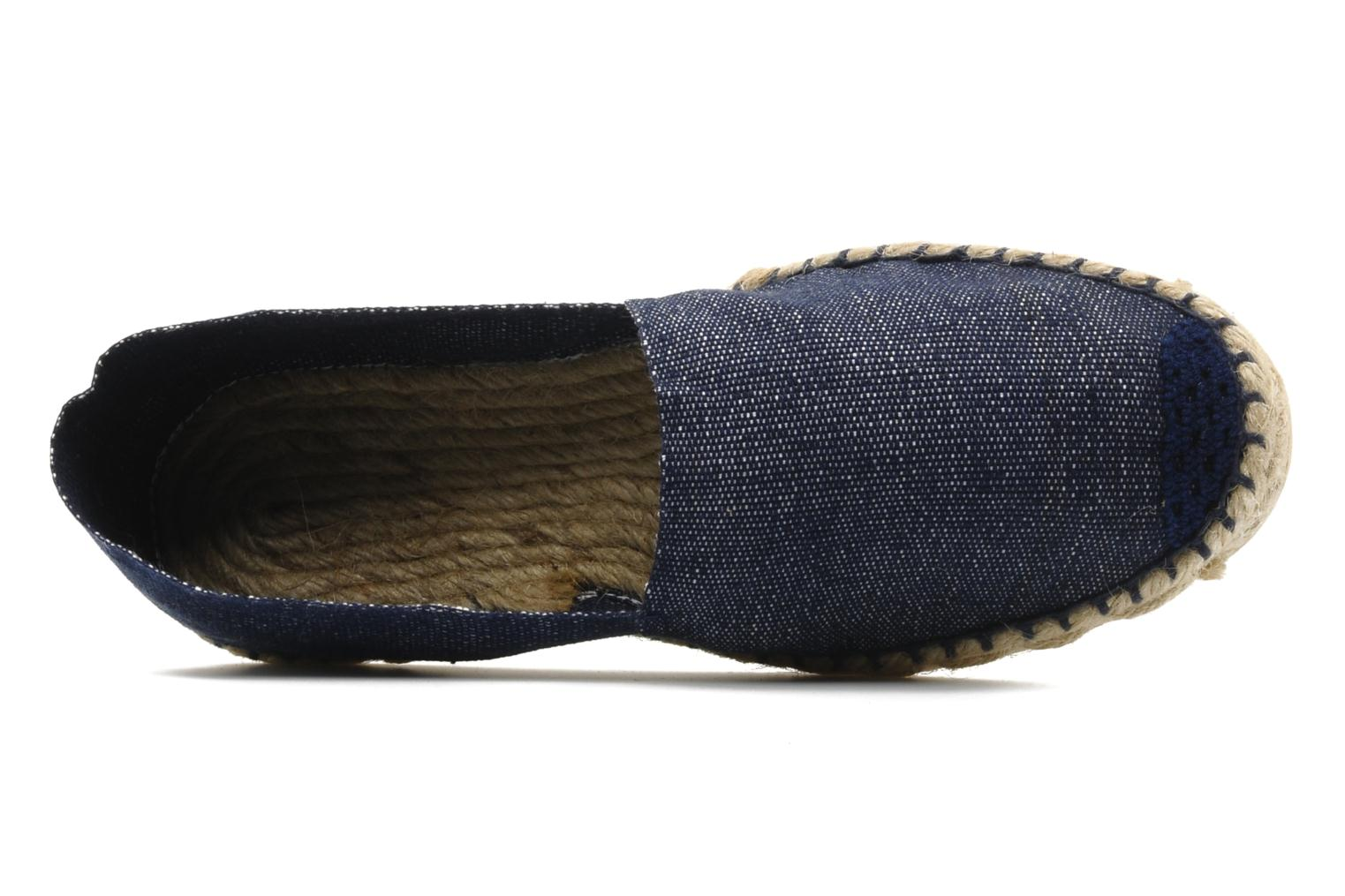 Espadrilles La maison de l'espadrille Sabline F Blue view from the left