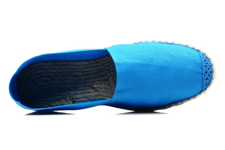 Espadrilles La maison de l'espadrille Sabline F Bleu vue gauche
