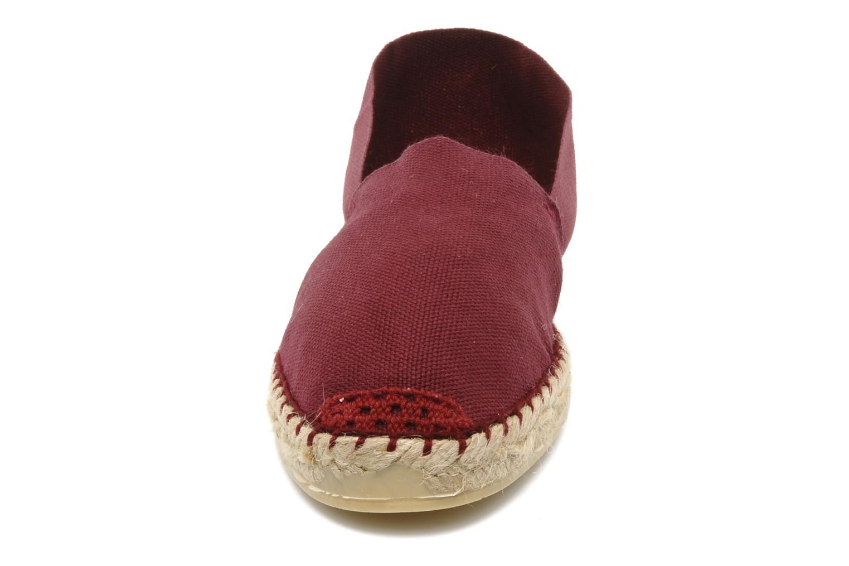 Espadrilles La maison de l'espadrille Sabline F Bordeaux vue portées chaussures