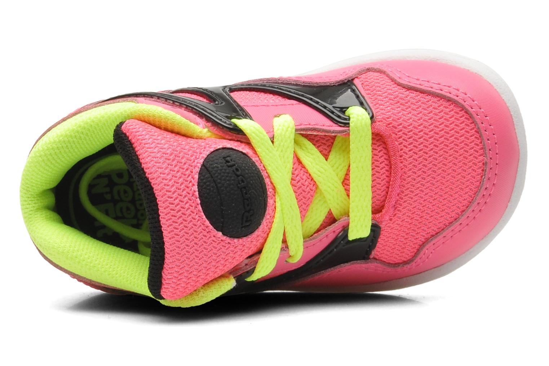 Sneaker Reebok Versa Pump Omni Lite rosa ansicht von links