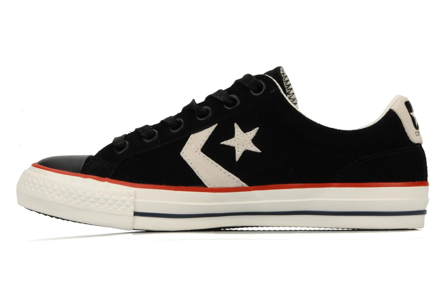 Sneakers Converse Star Player Ev Suede Ox W Nero immagine frontale