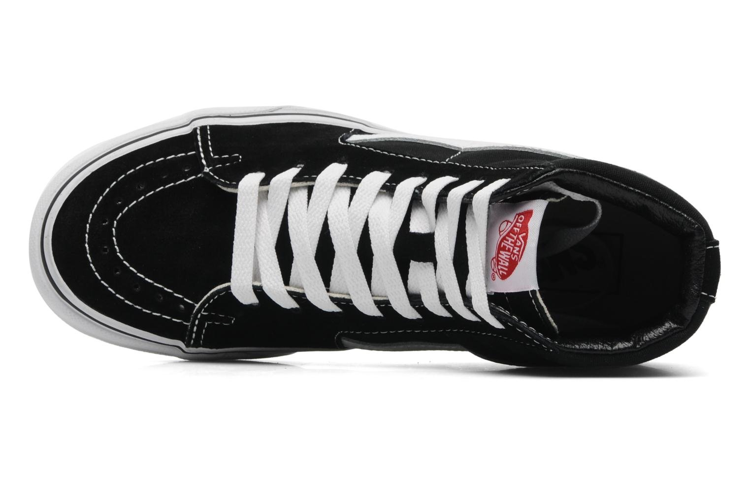 Trainers Vans SK8 Hi W Black view from the left