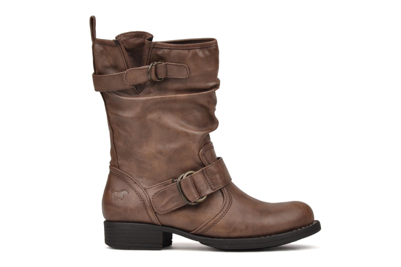 Boots en enkellaarsjes Mustang shoes Brea Bruin achterkant