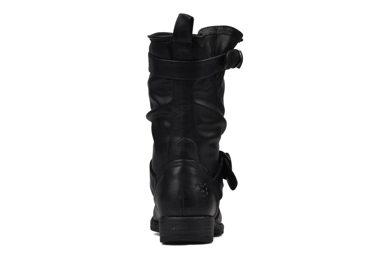 Bottines et boots Mustang shoes Brea Noir vue droite