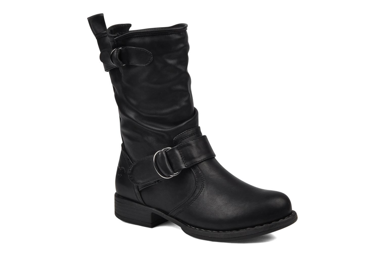 Boots en enkellaarsjes Mustang shoes Brea Zwart detail