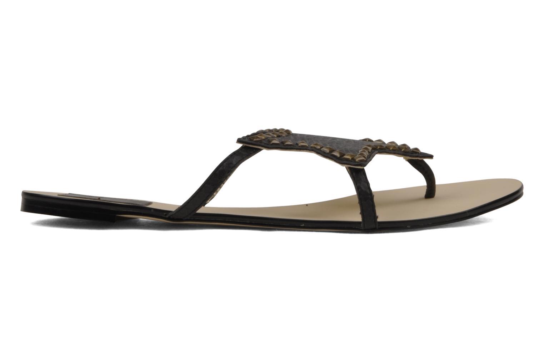 Sandales et nu-pieds Chocolate Schubar Star Noir vue droite