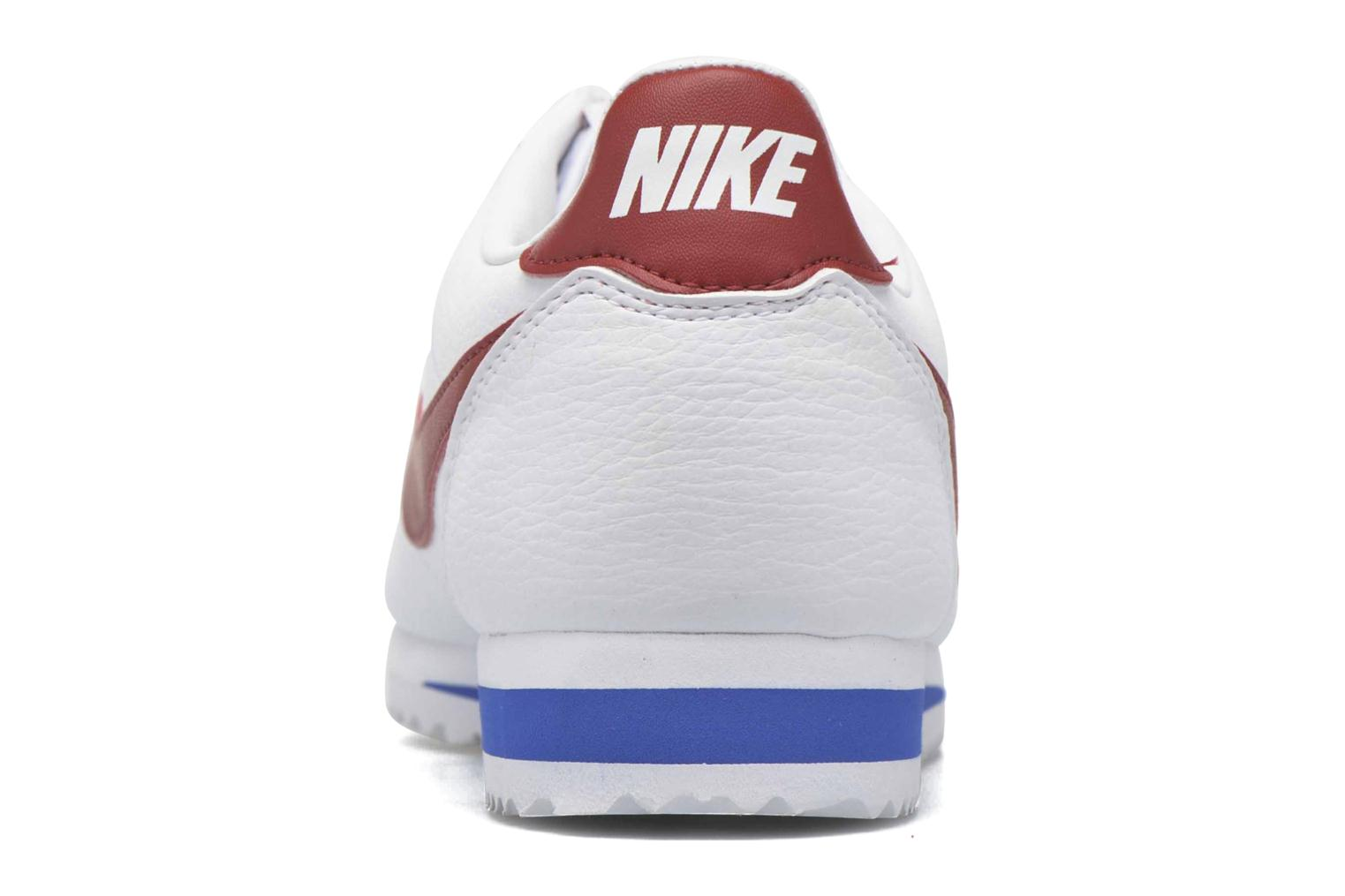 Classic Cortez Leather White/Varsity Red-Varsity Royal