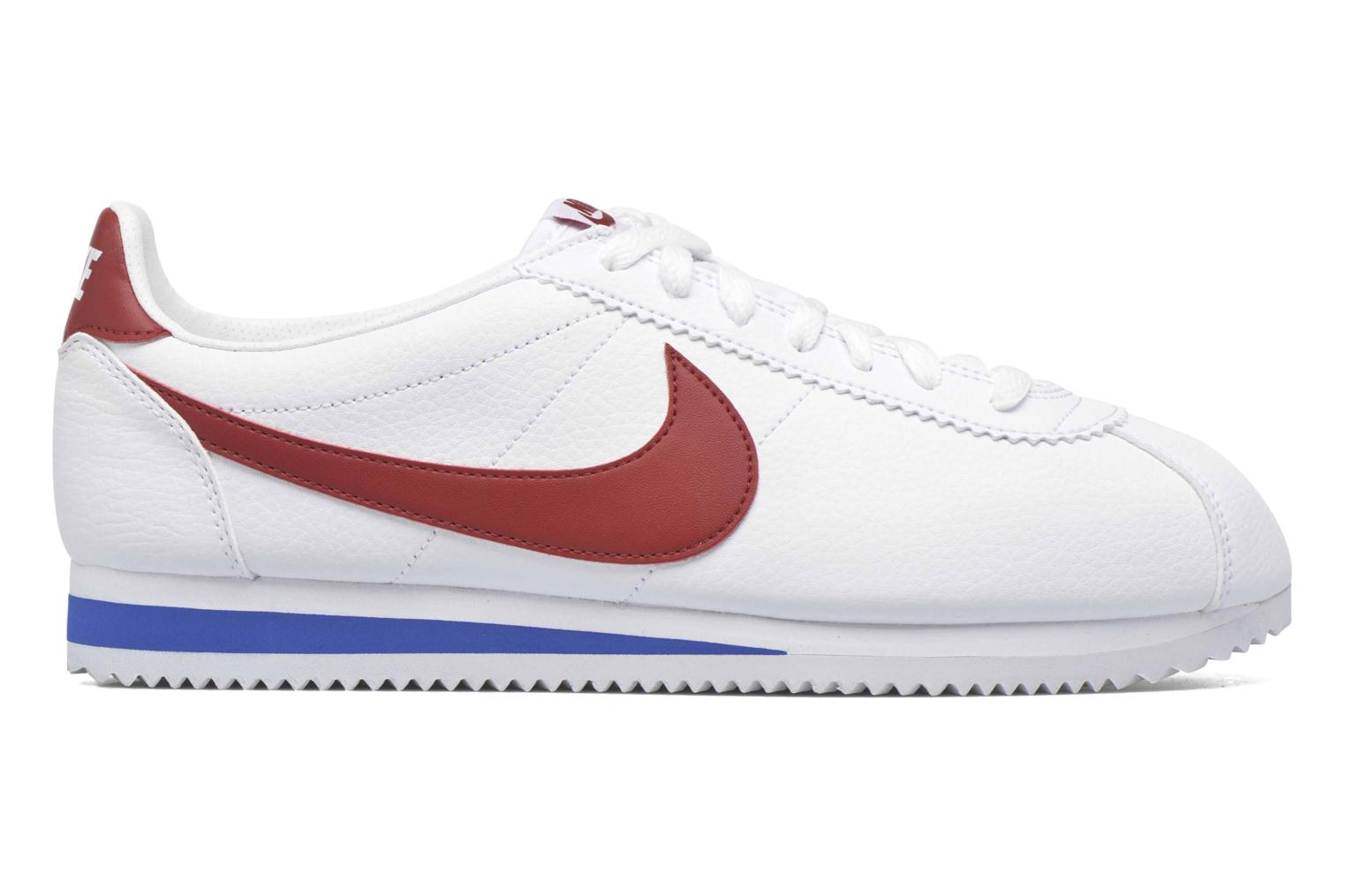 Sneakers Nike Classic Cortez Leather Bianco immagine posteriore