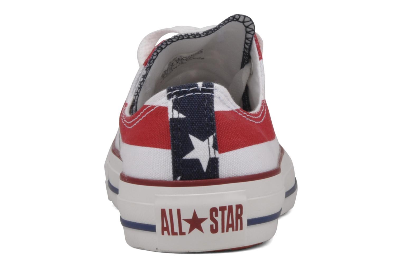 Chuck Taylor All Star Stars & Bars ox w Blanc Bleu Rouge