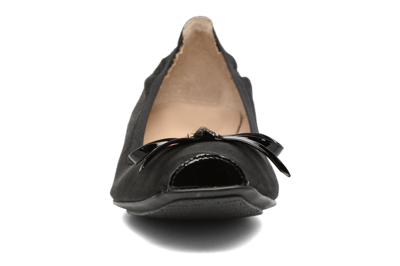 Ballerines JB MARTIN Yeti Noir vue portées chaussures