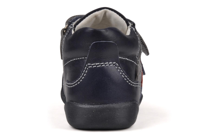 Baskets Primigi Stripe Bleu vue droite
