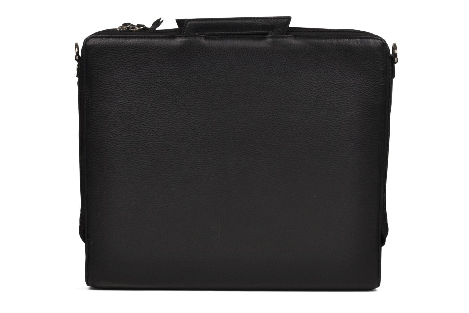 Business Lin & Gelli Elegy Laptop Noir vue face