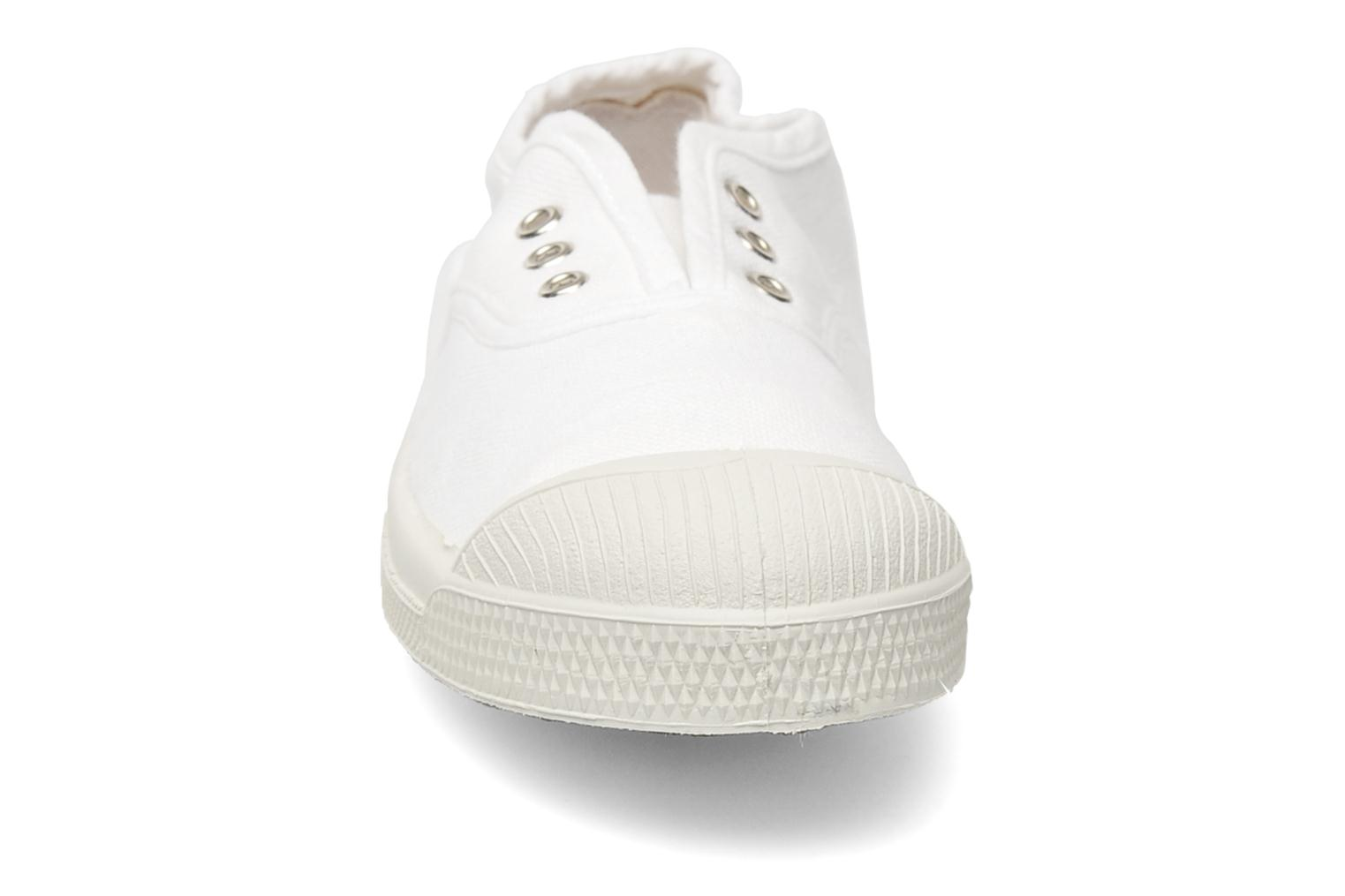 Trainers Bensimon Tennis Elly E White model view