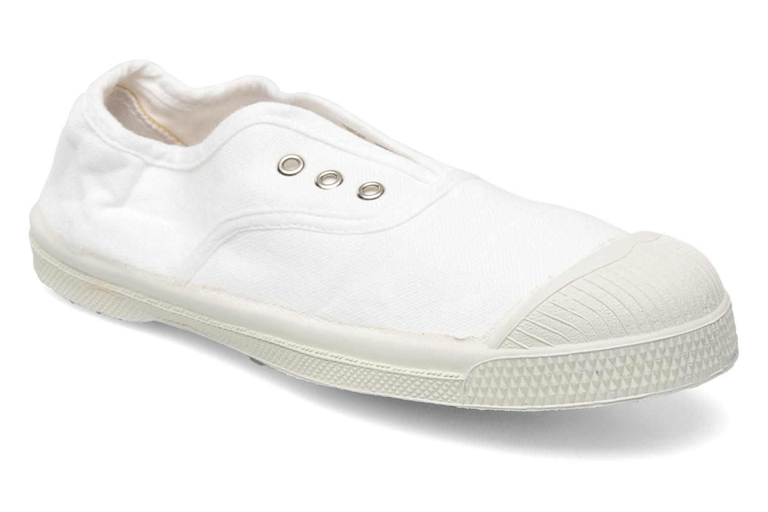 Trainers Bensimon Tennis Elly E White detailed view/ Pair view