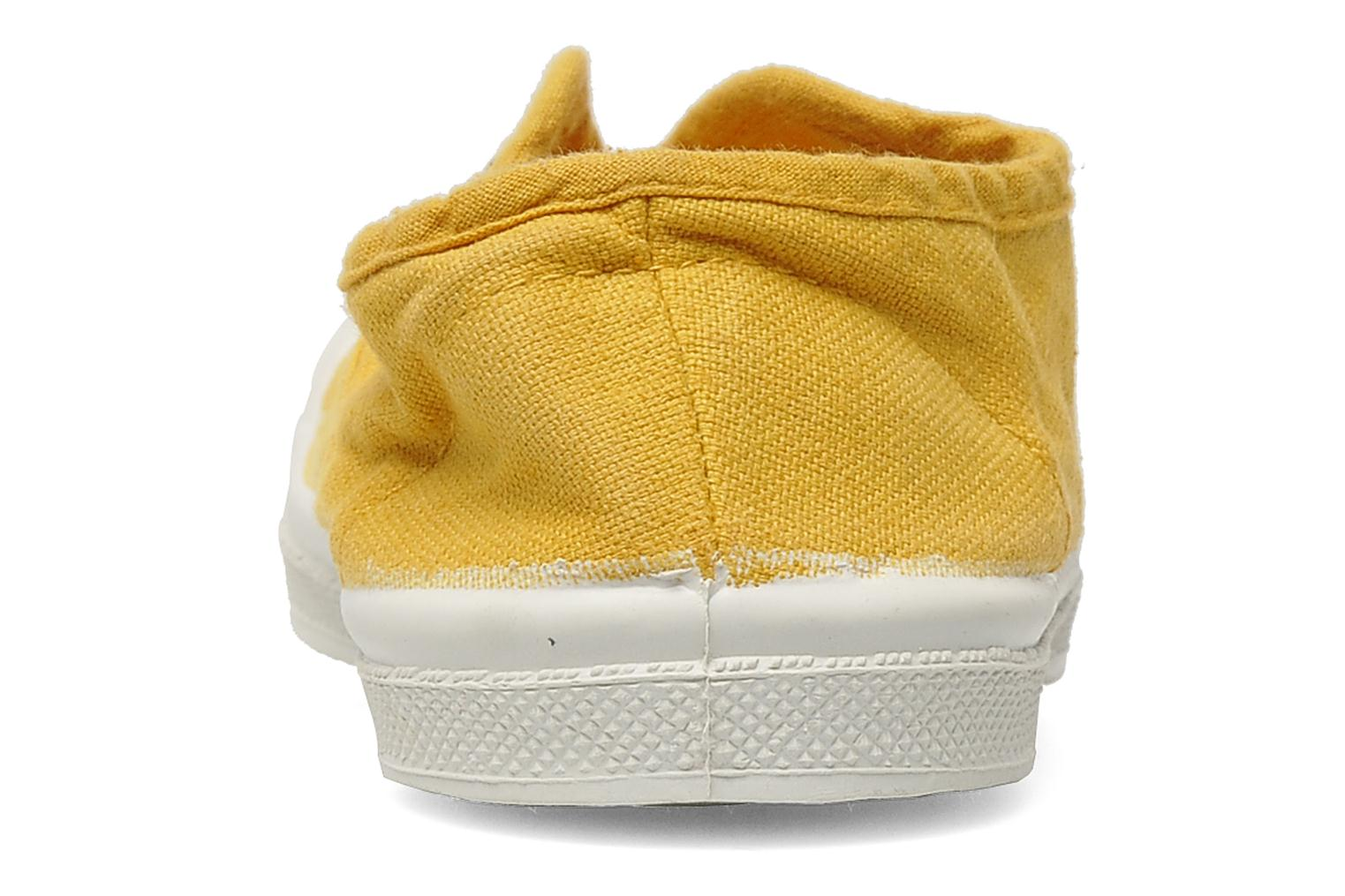 Trainers Bensimon Tennis Elly E Yellow view from the right
