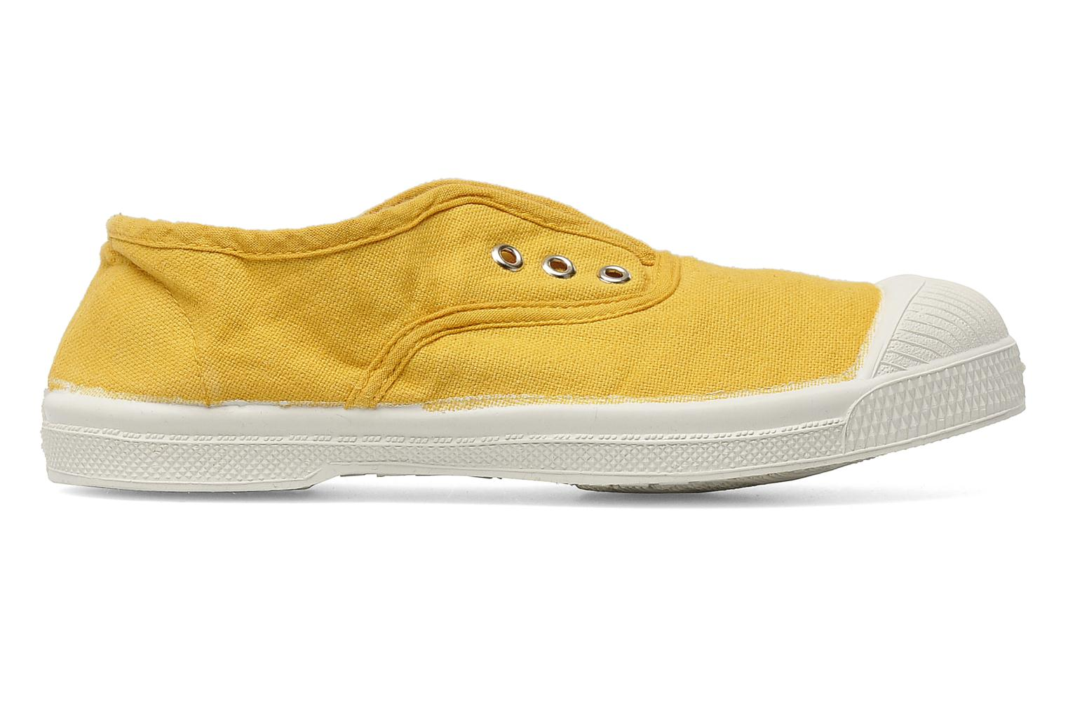 Trainers Bensimon Tennis Elly E Yellow back view