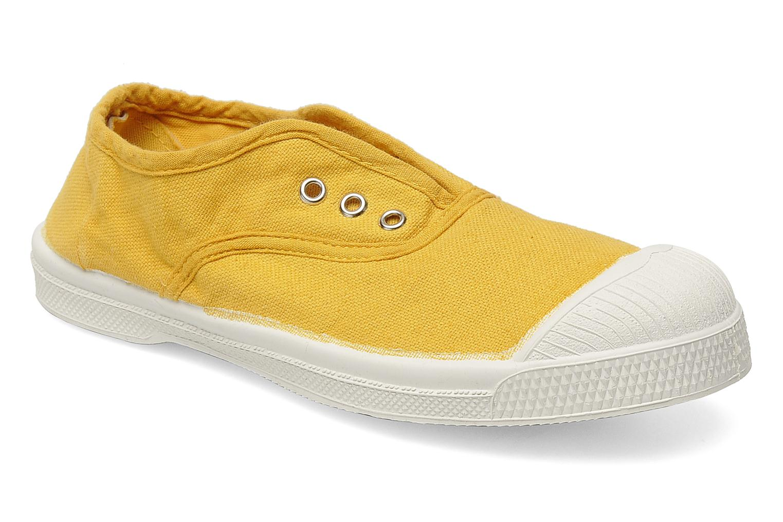 Trainers Bensimon Tennis Elly E Yellow detailed view/ Pair view