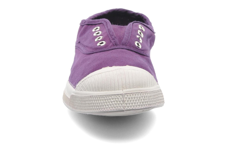 Baskets Bensimon Tennis Elly E Violet vue portées chaussures