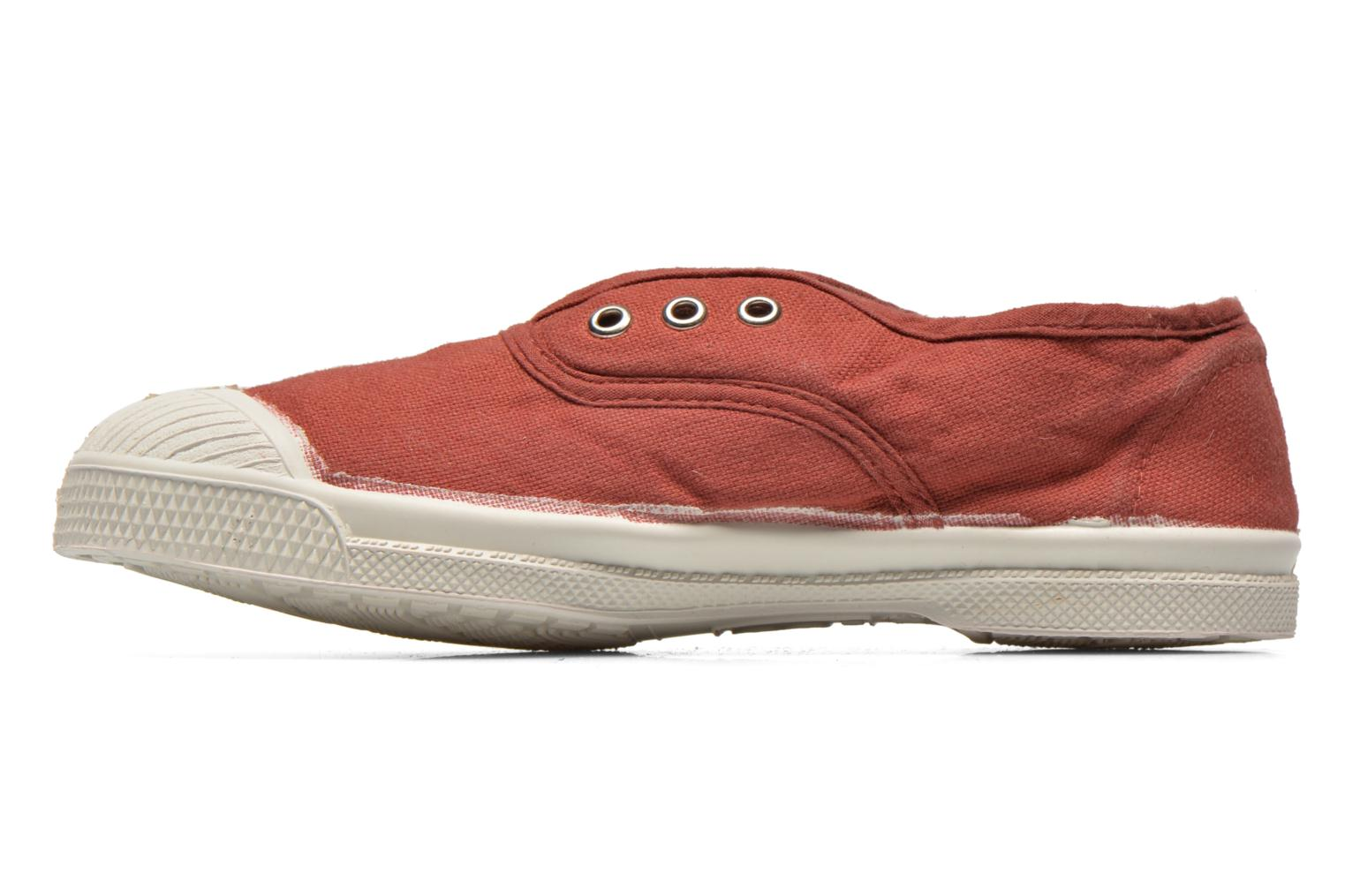 Trainers Bensimon Tennis Elly E Burgundy front view
