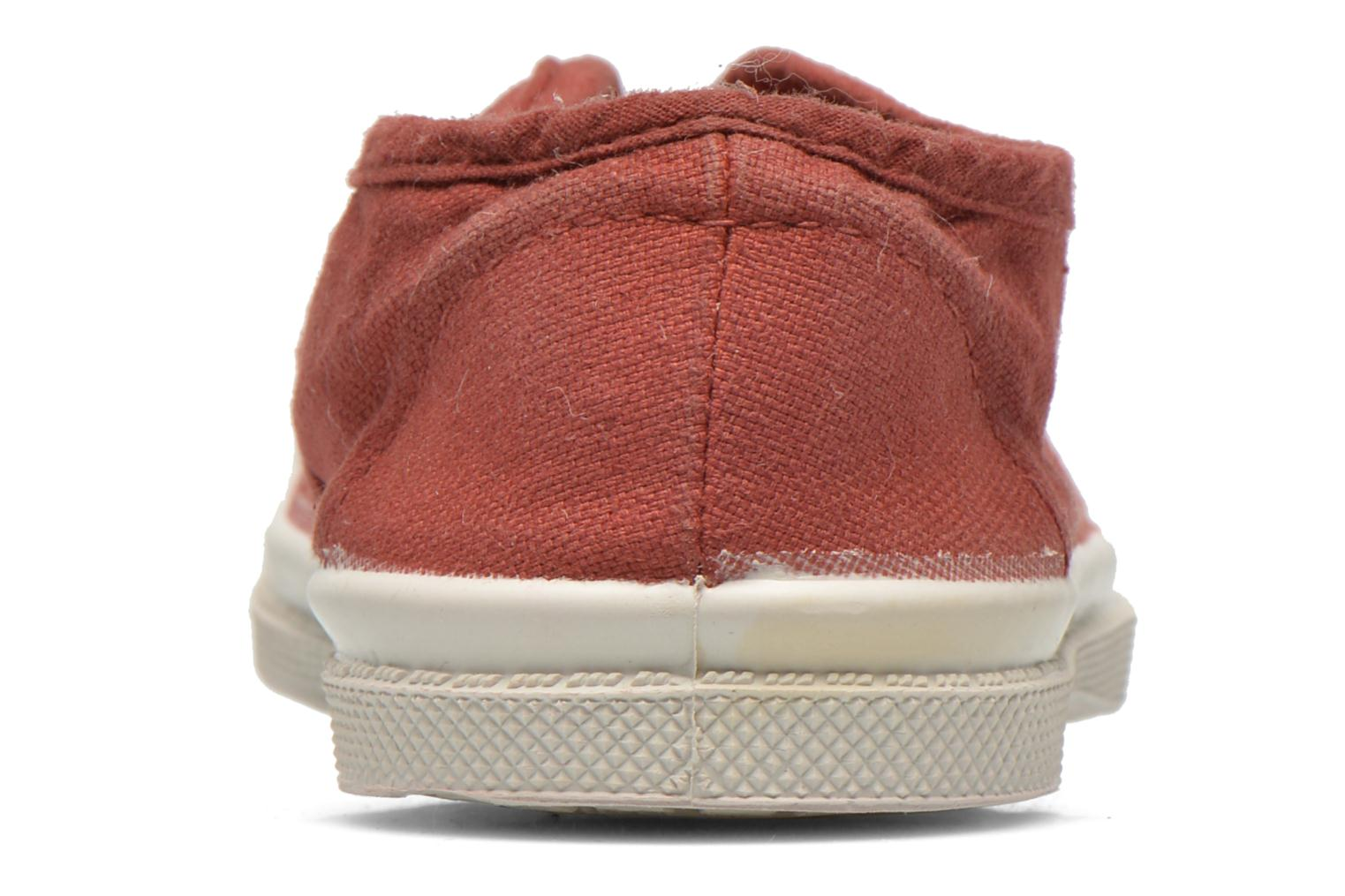 Trainers Bensimon Tennis Elly E Burgundy view from the right