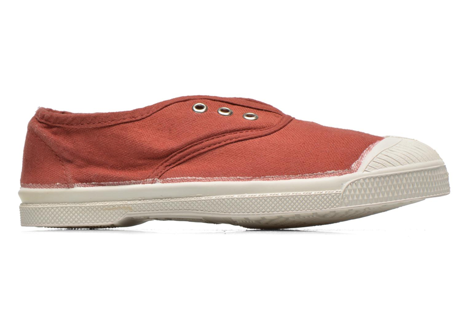 Trainers Bensimon Tennis Elly E Burgundy back view