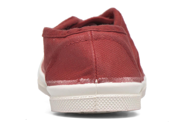 Sneaker Bensimon Tennis Elly E rot ansicht von rechts