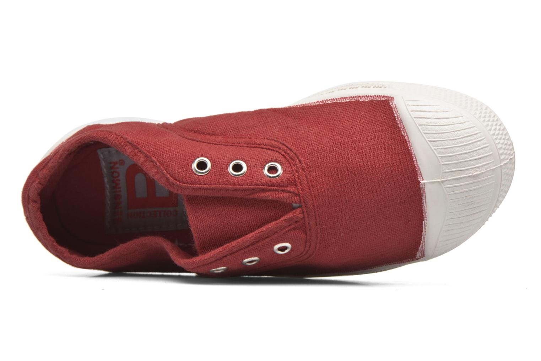 Sneaker Bensimon Tennis Elly E rot ansicht von links
