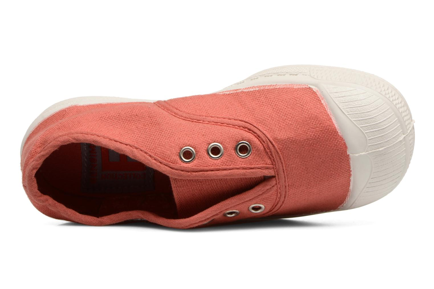 Trainers Bensimon Tennis Elly E Pink view from the left