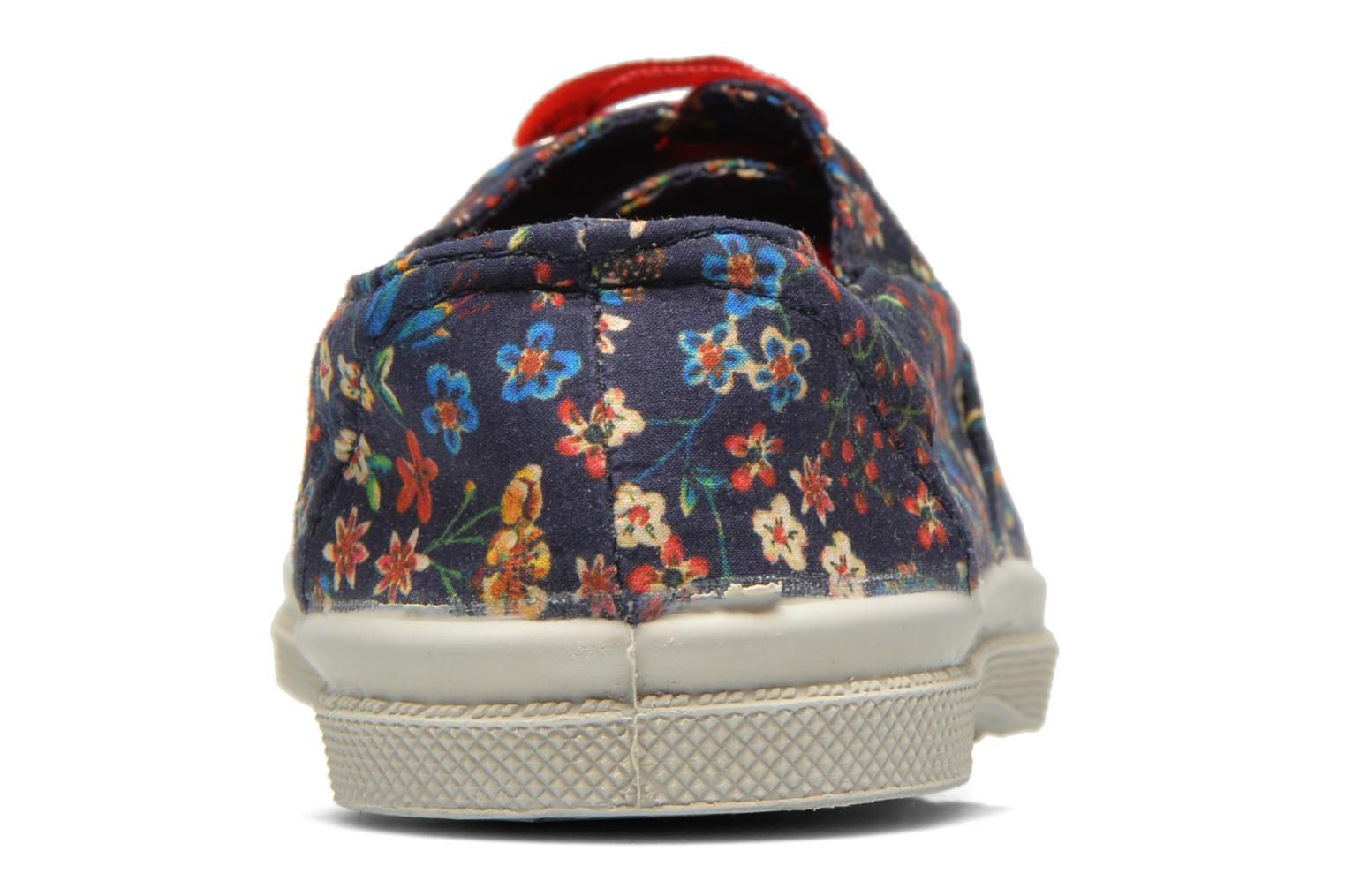 Baskets Bensimon Tennis Liberty E Multicolore vue droite