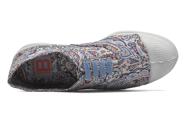 Sneaker Bensimon Tennis Liberty mehrfarbig ansicht von links
