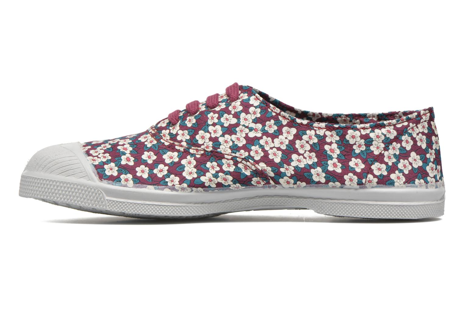 Baskets Bensimon Tennis Liberty Violet vue face