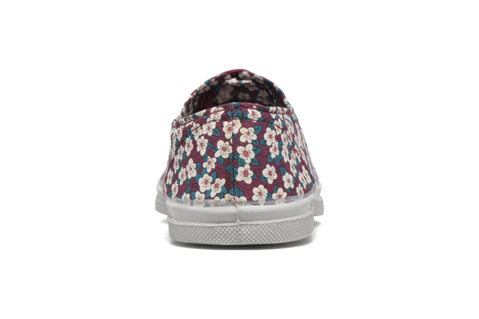 Baskets Bensimon Tennis Liberty Violet vue droite