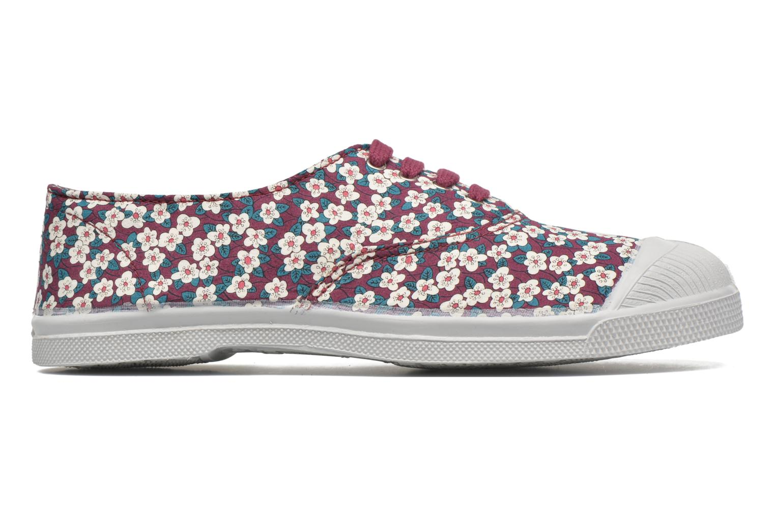 Baskets Bensimon Tennis Liberty Violet vue derrière