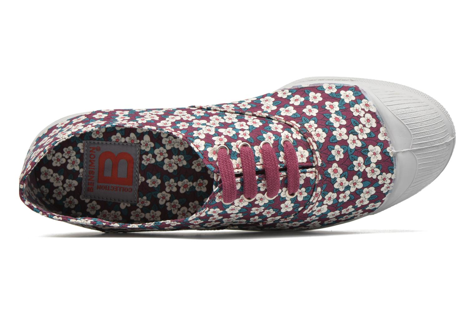 Baskets Bensimon Tennis Liberty Violet vue gauche