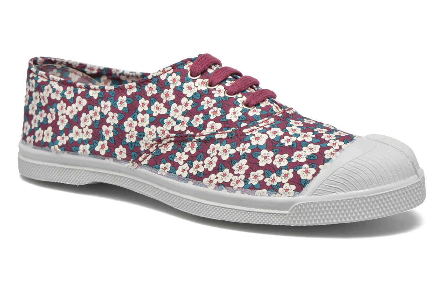 Baskets Bensimon Tennis Liberty Violet vue détail/paire
