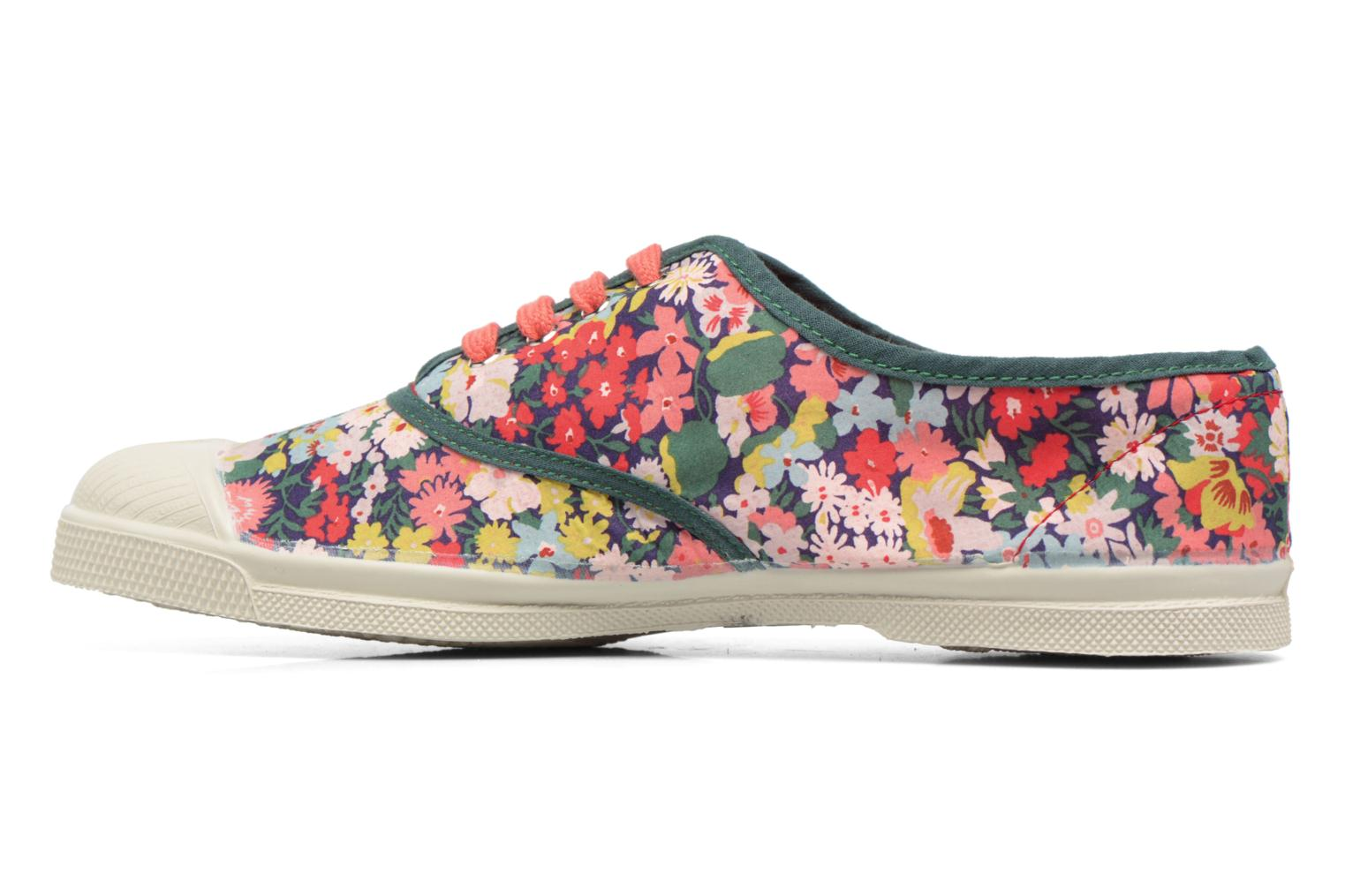 Trainers Bensimon Tennis Liberty Green front view