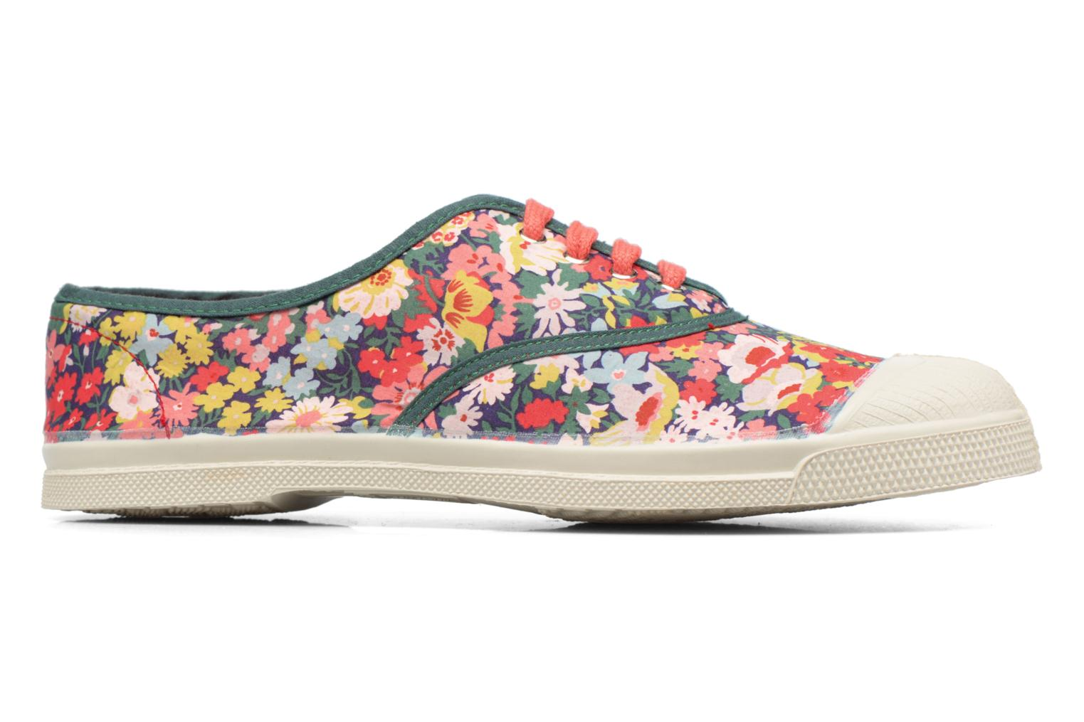 Trainers Bensimon Tennis Liberty Green view from the right