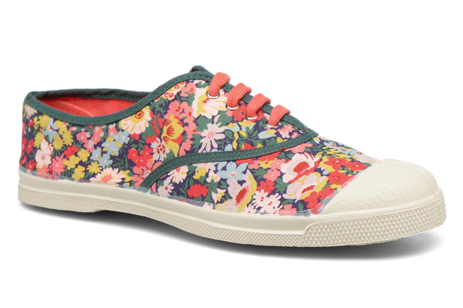 Trainers Bensimon Tennis Liberty Green detailed view/ Pair view