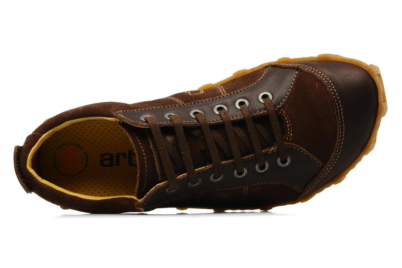 Melbourne 783 Suede grain Brown