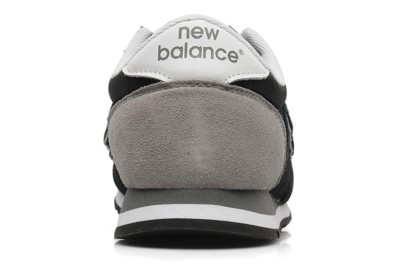 Baskets New Balance U420 Noir vue droite