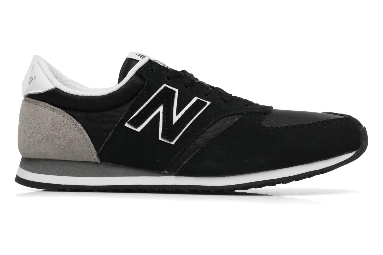 Sneakers New Balance U420 Zwart achterkant