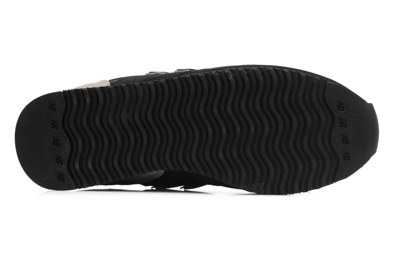 Baskets New Balance U420 Noir vue haut