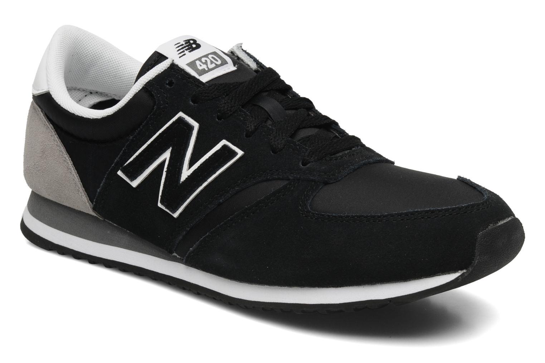 Sneakers New Balance U420 Zwart detail
