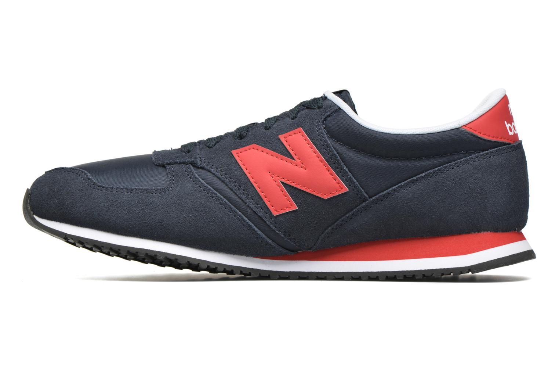 Sneakers New Balance U420 Blå se forfra