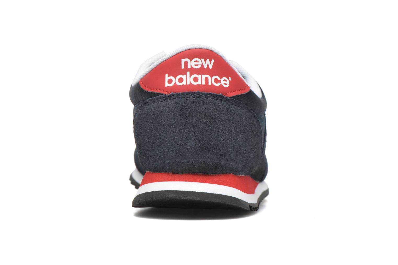 Sneakers New Balance U420 Blå Se fra højre